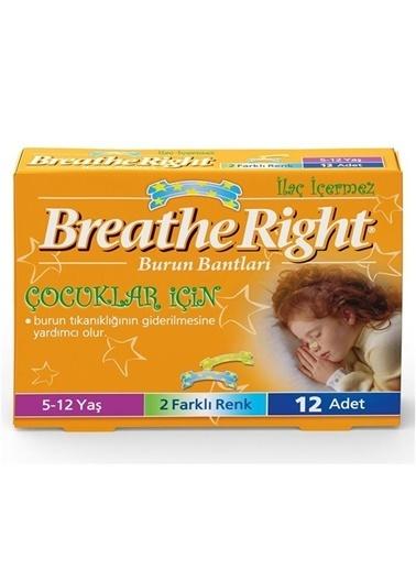 Breathe right Breathe Right Burun Bantları Çocuklar İçin 12 Adet Renksiz